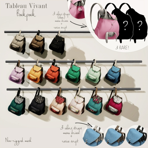 ~Tableau Vivant~ Backpack @ The Arcade