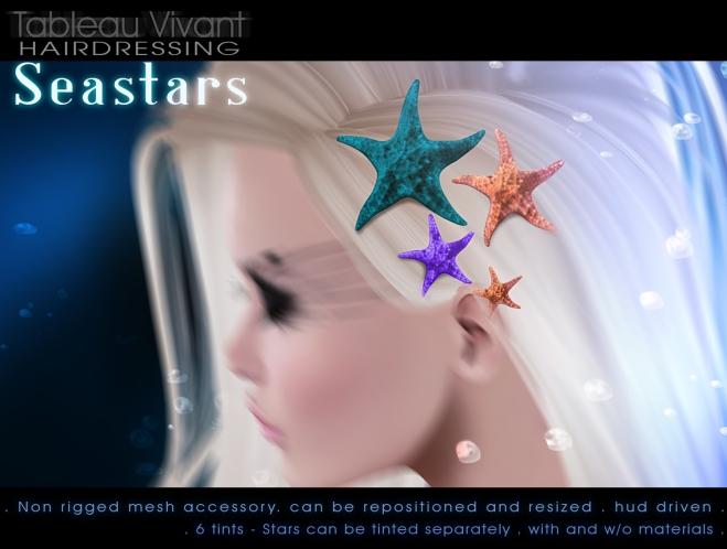 Tableau Vivant - Seastars-adv